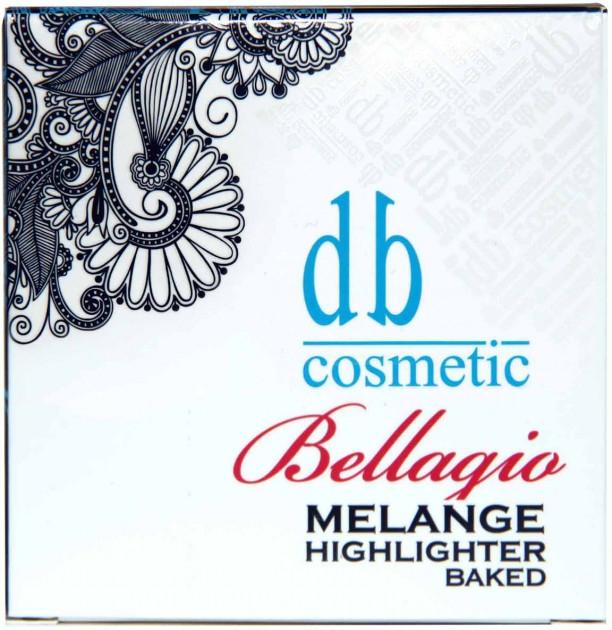 Хайлайтер запеченный - Dark Blue Cosmetics Bellagio Bellagio Melange Baked