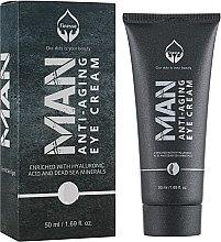 Духи, Парфюмерия, косметика Мужской крем от морщин вокруг глаз - Finesse Man Anti-Aging Eye Cream