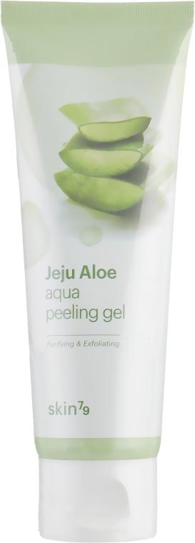 Пилинг гель для лица - Skin79 Jeju Aloe Aqua Peeling Gel