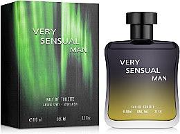 Парфумерія, косметика Sterling Parfums Very Sensual Man - Туалетна вода