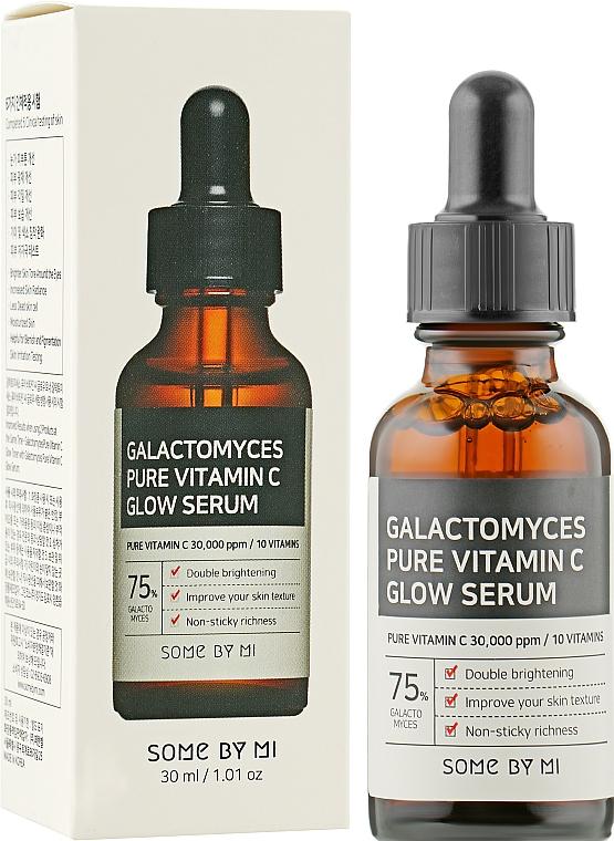 Сыворотка с витамином С и галактомисисом - Some By Mi Galactomyces Pure Vitamin C Glow Serum