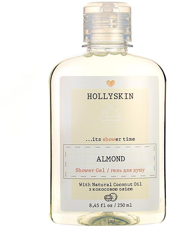 Натуральный гель для душа с ароматом миндаля - Hollyskin Almond