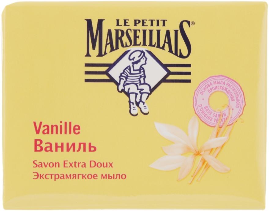 Экстрамягкое мыло «Ваниль» - Le Petit Marseillais Savon Extra Doux Vanille