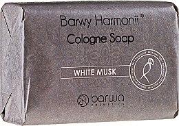 """Духи, Парфюмерия, косметика Мыло """"Белый мускус"""" - Barwa Harmony White Musk Soap"""