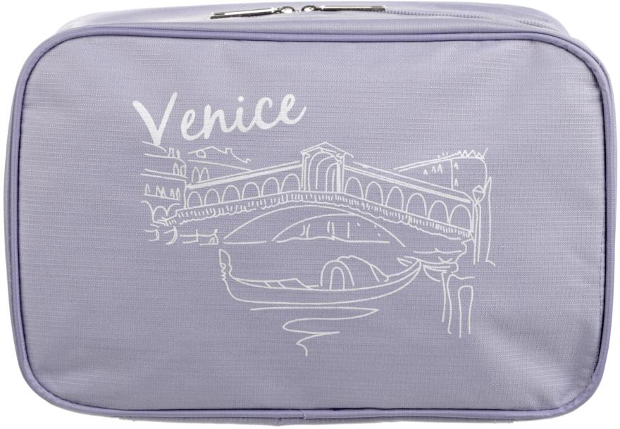 Дорожный органайзер для косметики, фиолетовый - Mindo Venice