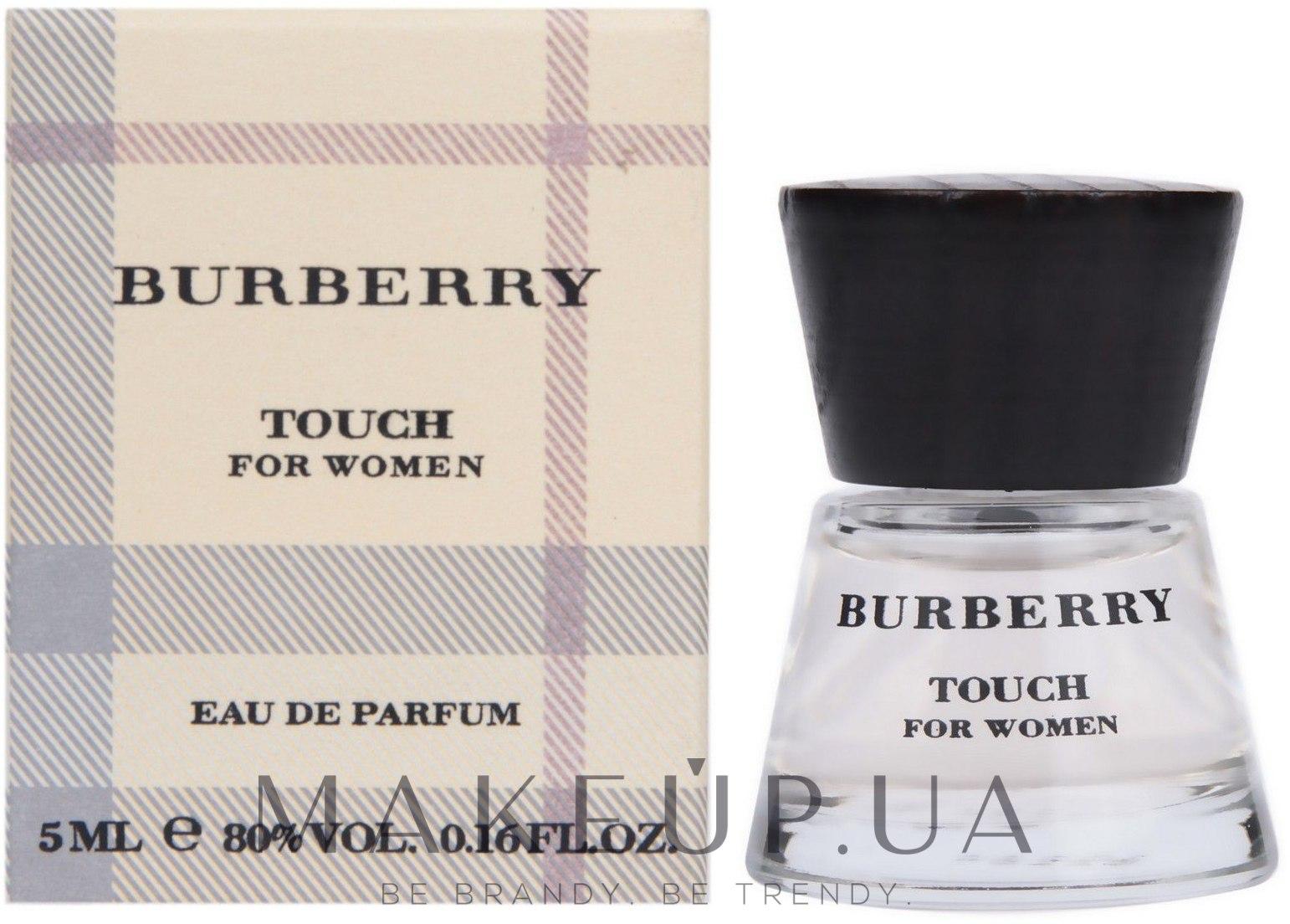 fb33550bccce MAKEUP   Burberry Touch for women - Парфюмированная вода (мини ...