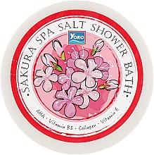 Духи, Парфюмерия, косметика Скраб-соль для душа с сакурой - Yoko Sakura Spa Salt Shower Bath