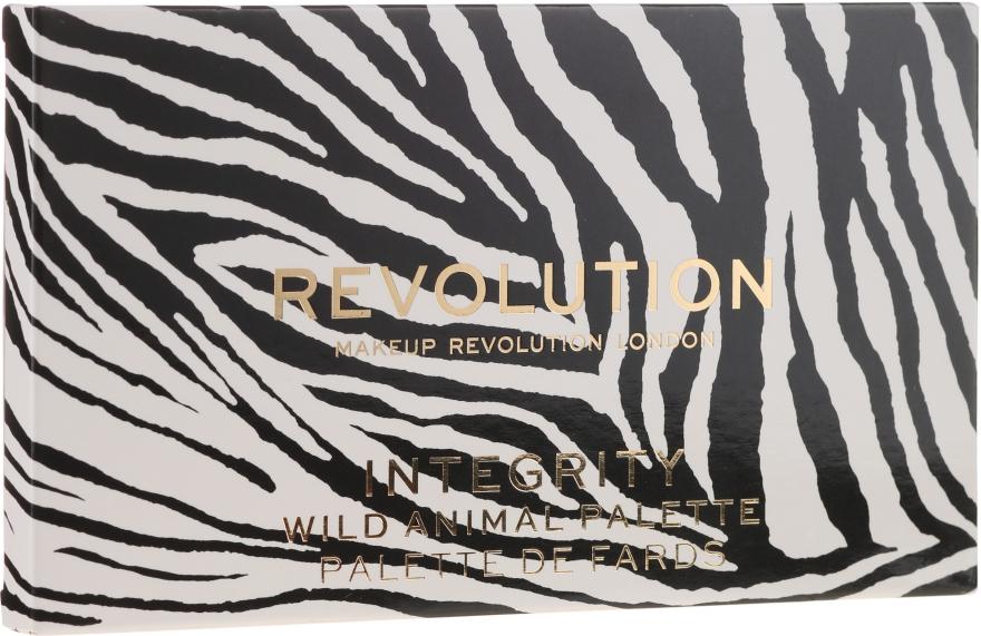 Палетка теней для век - Makeup Revolution Wild Animal — фото N2