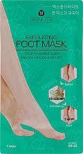 Духи, Парфюмерия, косметика Маска-носки для ног отшелушивающая, размер 40-45 - Skinlite Exfoliating Foot Mask