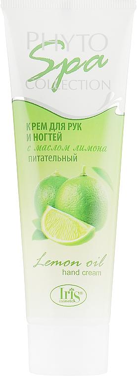 """Крем для рук и ногтей """"Питательный"""" с маслом лимона - Iris Cosmetic Phyto Spa Collection"""
