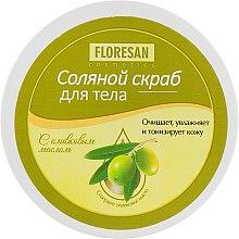 Духи, Парфюмерия, косметика Солевой скраб для тела с оливковым маслом - Floresan Cosmetics
