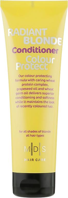 Кондиционер «Защита цвета. Сияющий блонд» - Mades Cosmetics Radiant Blonde Colour Protect Conditioner