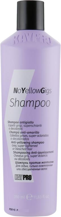 Шампунь от желтого оттенка - KayPro NoYellowGigs Shampoo