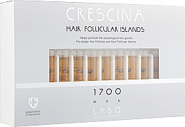 Духи, Парфюмерия, косметика Лосьон для стимуляции роста волос для мужчин 1700 - Crescina Hair Follicular Islands Re-Growth 1700