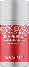 Духи, Парфюмерия, косметика Гидрофильное масло с экстрактом грейпфрута - G9Skin Grapefruit Vita Bubble Oil Foam (мини)