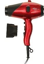 Духи, Парфюмерия, косметика Компактный фен для волос, красный - Dikson Nino Muster 3000
