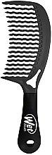 Духи, Парфюмерия, косметика Гребень для волос с ручкой, черный - Wet Brush Handle Comb Blackout