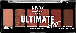 Парфумерія, косметика Палетка тіней - NYX Professional Makeup Ultimate Edit Petite Shadow Palette
