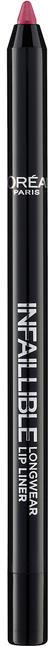 Карандаш для губ - L'Oreal Paris Infallible Lip Liner — фото 102 - Darling Pink Liner