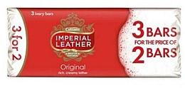 Духи, Парфюмерия, косметика Классическое мыло, 3 шт. - Imperial Leather Original Soap
