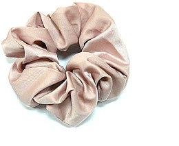 Духи, Парфюмерия, косметика Резинка для волос P1600-8, 11 см d-5,5 см, пудровая - Akcent