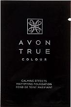 Духи, Парфюмерия, косметика Тональный крем для лица - Avon True Colour Mattifying Foundation (пробник)