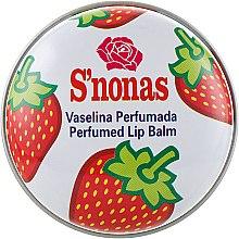 """Духи, Парфюмерия, косметика Бальзам для губ """"Клубника"""" - S'nonas"""