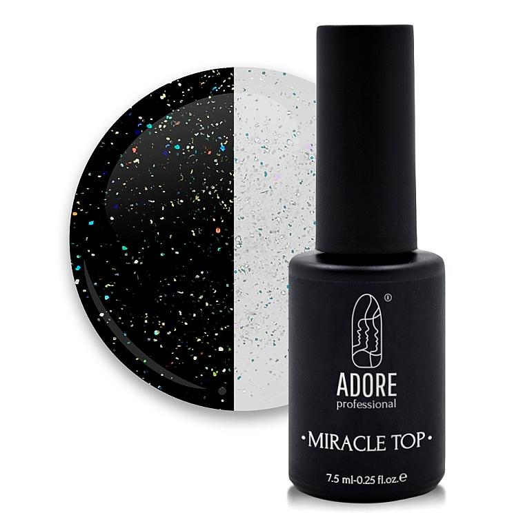 Топ для гель-лака с блестками - Adore Professional Miracle Top