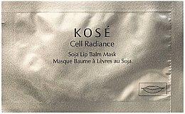 Духи, Парфюмерия, косметика Бальзам-маска для губ - Kose Cell Radiance Soja Lip Balm Mask