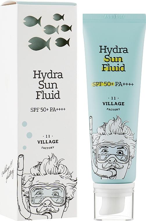 Солнцезащитный флюид - Village 11 Factory Hydra Sun Fluid SPF 50+ PA++++