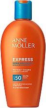 Духи, Парфюмерия, косметика Солнцезащитное молочко для ускорения загара - Anne Moller Express Sunscreen Body Milk SPF50