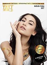 Духи, Парфюмерия, косметика Временные тату - TATTon.me Gold Fish Set