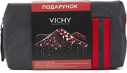 Косметичка с пробниками в подарок, при покупке двух товаров серии Homme от Vichy