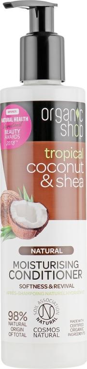 """Бальзам для волос """"Кокосо и масло ши"""" - Organic Shop Coconut And Shea Conditioner"""