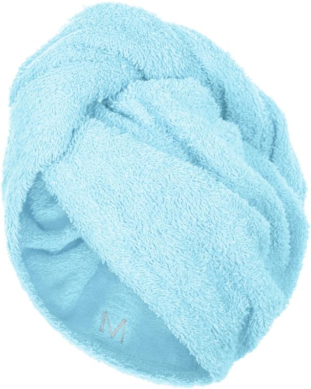 Полотенце-тюрбан для сушки волос, мятное - Makeup