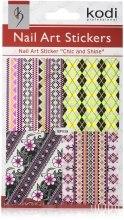 Духи, Парфюмерия, косметика Наклейка для дизайна ногтей - Kodi Professional Nail Art Stickers BP039