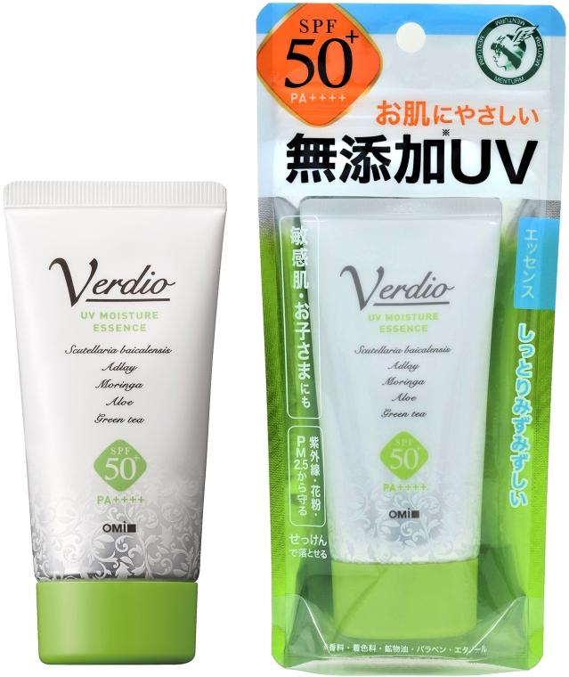Эссенция антивозрастная солнцезащитная - Omi Brotherhood Verdio UV Moisture Essence SPF 50+