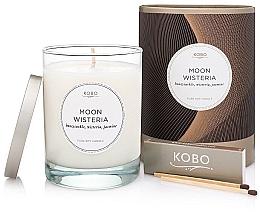 Духи, Парфюмерия, косметика Kobo Moon Wisteria - Ароматическая свеча