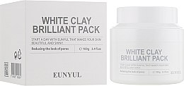 Духи, Парфюмерия, косметика Маска для лица осветляющая - Eunyul White Clay Brilliant Pack