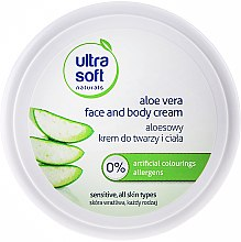 Духи, Парфюмерия, косметика Крем для лица и тела с Алоэ Вера - Ultra Soft Naturals Aloe Vera Face and Body Cream