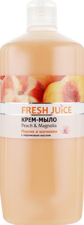 """Крем-мыло с персиковым маслом """"Персик и магнолия"""" - Fresh Juice Peach & Magnolia"""