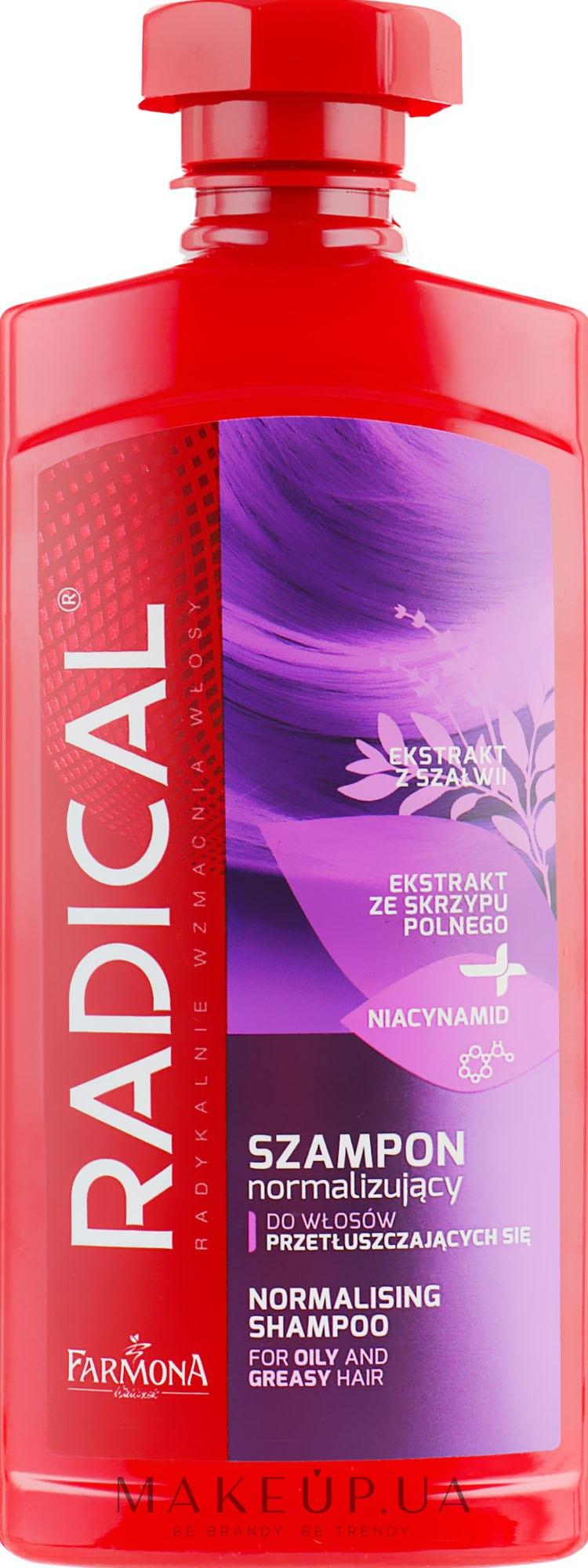 Шампунь для жирных волос - Farmona Radical Normalising Shampoo For Oily Hair — фото 400ml