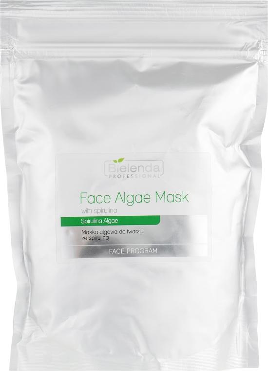Альгинатная маска для лица со спирулиной - Bielenda Professional Algae Spirulina Face Mask (запасной блок)