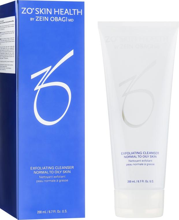 Очищающий гель с отшелушивающим действием - Zein Obagi Exfoliating Cleanser for Normal to Oily Skin