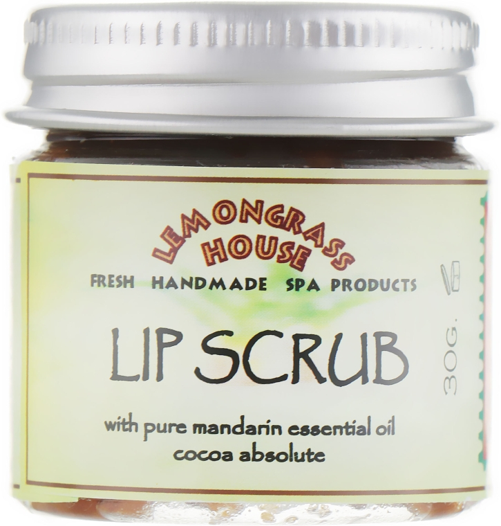 "Скраб для губ ""Какао и мандарин"" - Lemongrass House Lip Scrub"