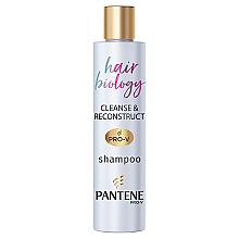 "Духи, Парфюмерия, косметика Шампунь ""Биология волос. Очищение и восстановление"" - Pantene Pro-V Hair Biology Cleanse & Reconstruct Shampoo"