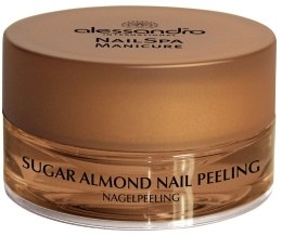 Духи, Парфюмерия, косметика Пилинг для всех типов ногтей - Alessandro International Sugar Almond Nail Peeling