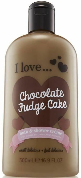 Крем для душа и пена для ванны - I Love... Chocolate Fudge Cake Bubble Bath And Shower Creme