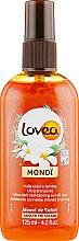 Духи, Парфюмерия, косметика Тонирующий спрей-масло Монои для быстрого загара - Lovea Monoi Tinted Suntan Oil