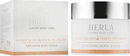 Духи, Парфюмерия, косметика Скраб для тела - Herla Luxury Body Care Gingko Biloba & White Mulberry Body Scrub